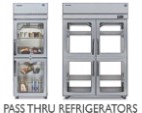 Pass-Thru Refrigeration