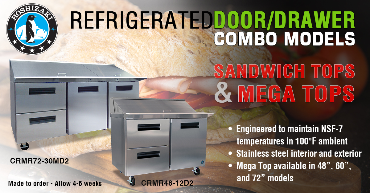 Peachtree City, GA (April 18, 2017) U2013 Hoshizaki America, Inc. Is Proud To  Announce The Addition Of Door And Drawer Combo Cabinets To Their  Refrigerated ...