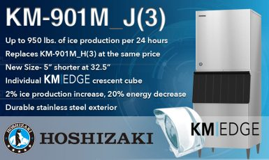 KM-901M_J icemaker with text bullets of features