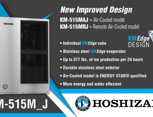 HOSHIZAKI Announces the KM-515M_J Modular KMEdge Cuber Ice Machine