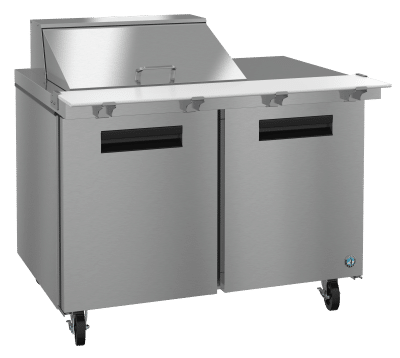 SR48A-12M - Refrigerated Mega Top Prep Table